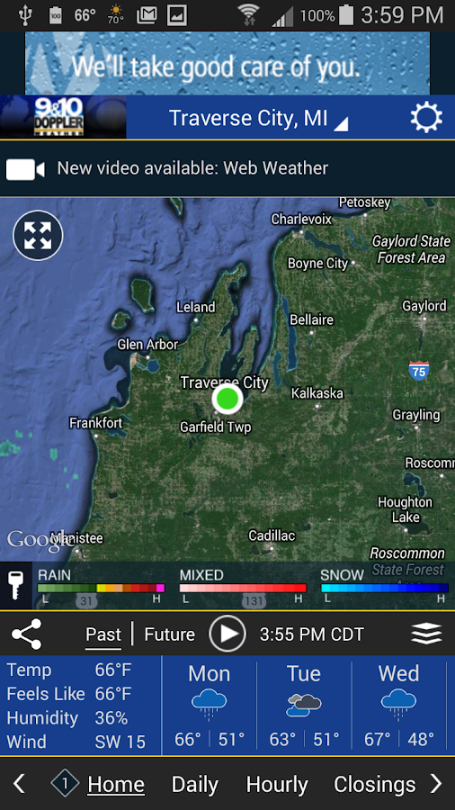 Doppler 9&10 Weather Team- screenshot