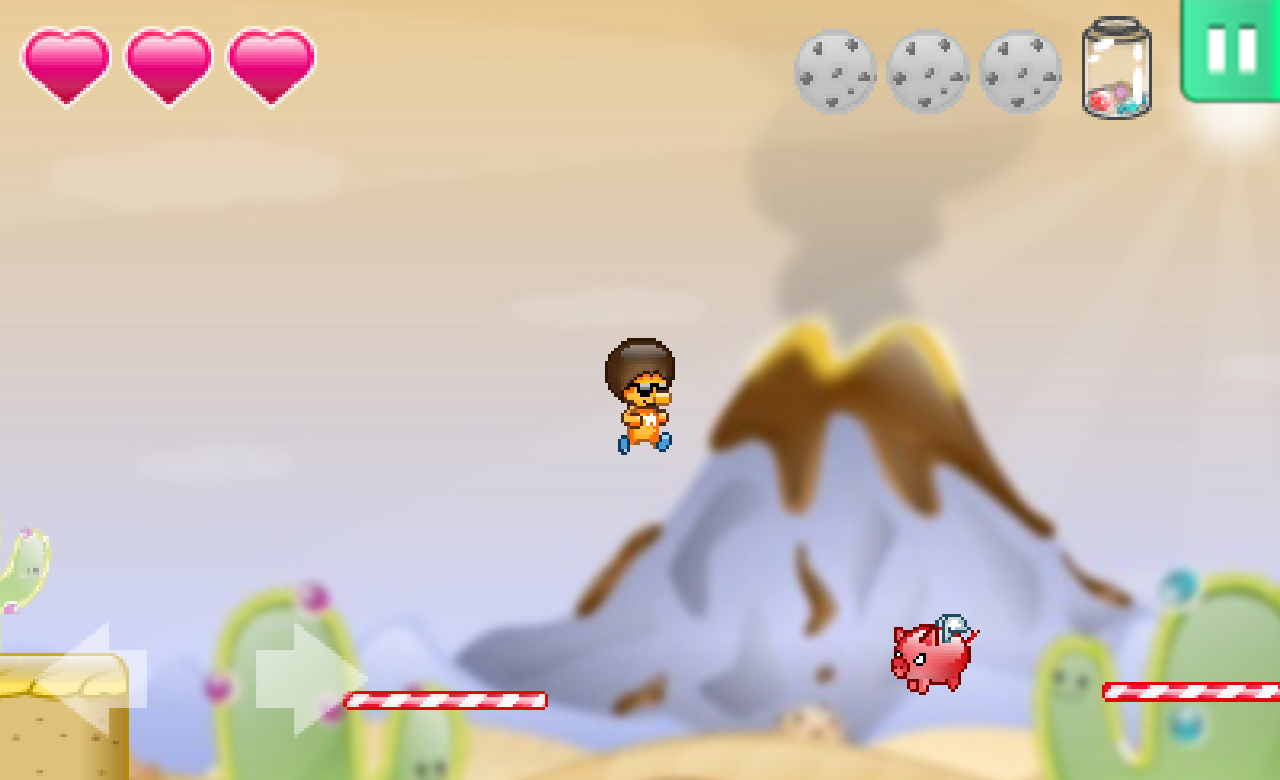 BetaMax - Cookie Desert- screenshot