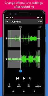 change effects and settings after recording in voloco premium mod apk
