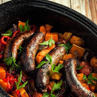 Simple Sausage Casserole.
