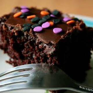 Chocolate Cake No Milk Or Eggs Recipes.