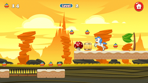 Unicorn Dash Attack: Unicorn Games filehippodl screenshot 7
