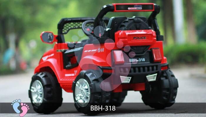 Ô tô điện trẻ em BBH-318 kiểu Police 9