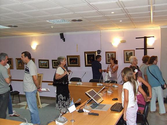 Abre Acceso a Galeria Exposición José Carrillo