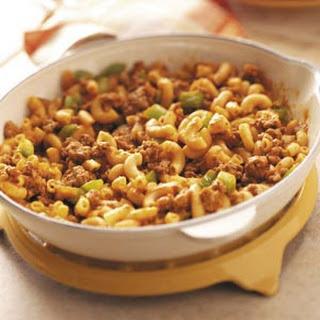 Beef Macaroni Skillet.