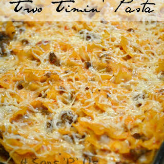 Two Timin' Pasta.