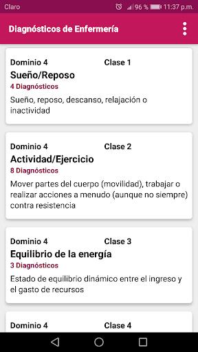 Diagnu00f3sticos de Enfermeru00eda 1.36 screenshots 2