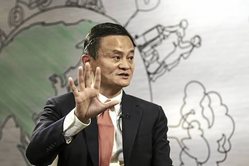 Alibaba chair Jack Ma. Picture: BLOOMBERG