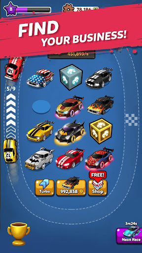 Merge Battle Car: Best Idle Clicker Tycoon game 1.0.76 screenshots 3