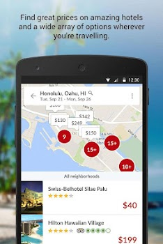 Hotwire Hotel and Car Rental App