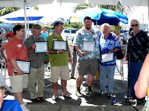 Photo: Certificates of Appreciation to the Reunion Committee
