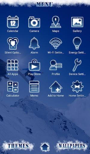 snowboarder Wallpaper Snow&Sky 1.0.0 Windows u7528 2