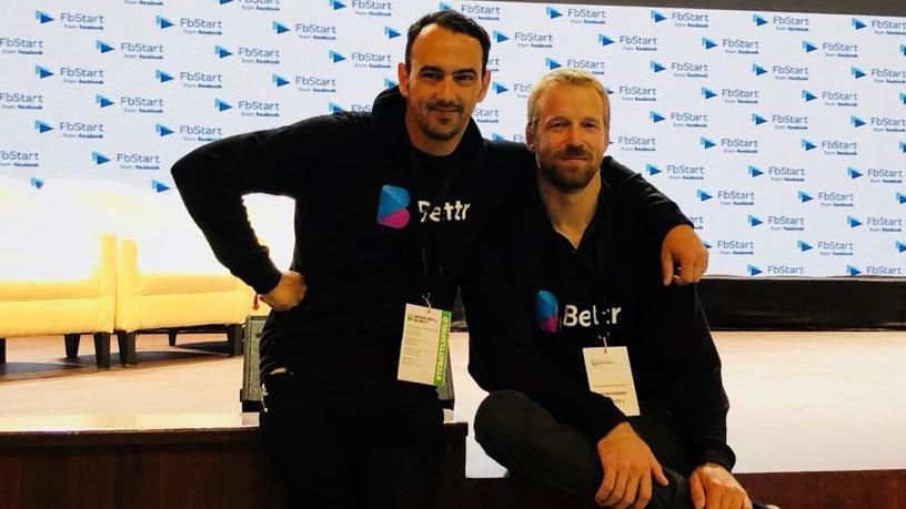 Bettr founders Tobie van Zyl (CEO) and Andrzej Stempowski (CTO).
