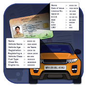 Car Registration & Driving Licence Info