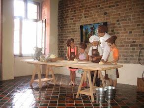 Photo: Zaczęliśmy od wyrabiania ciasta.