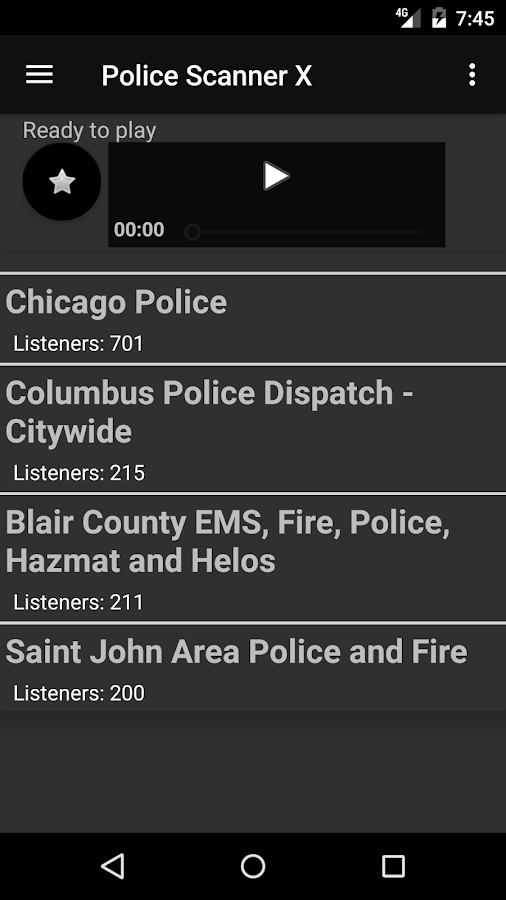 Police Scanner X- screenshot