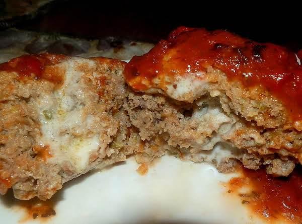 Cheesy Italian Meatloaf Minis
