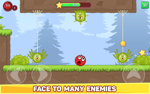 Bounce Ball 5 - Jump Ball Hero Adventure apktram screenshots 11