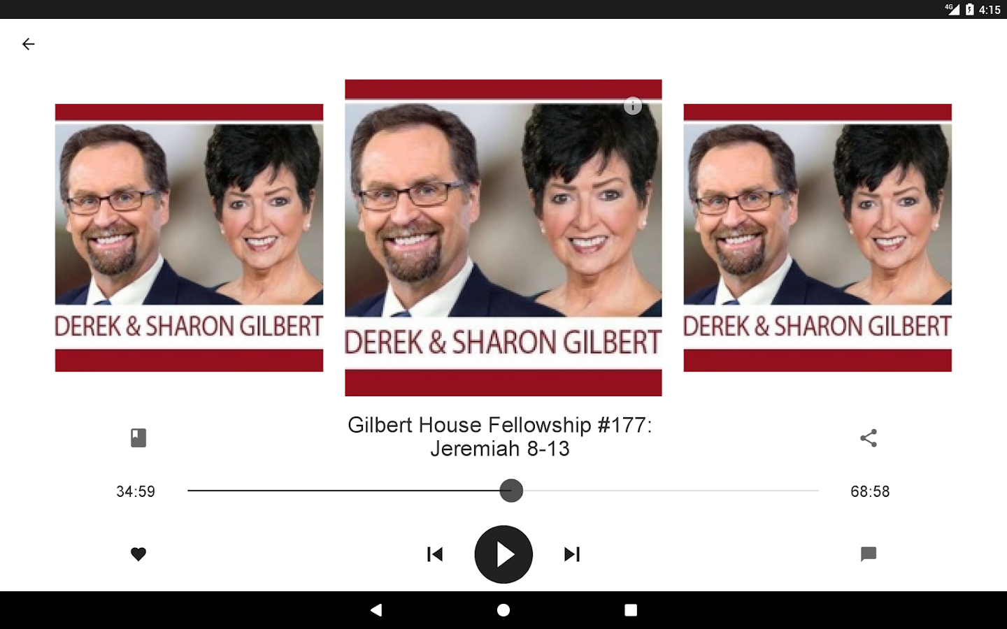 Gilbert House Fellowship- screenshot