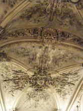 Photo: Some of the ceiling detail in the main entry area