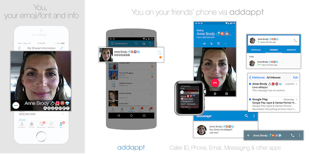 addappt: up-to-date contacts Screenshot