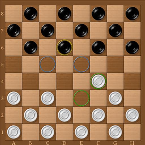 Dama - Free checkers