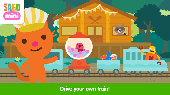 Sago Mini Trains
