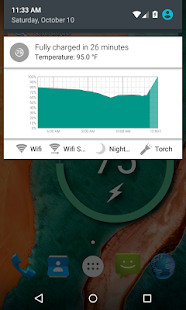Battery Widget Reborn (Free) Screenshot