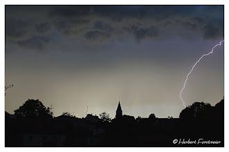 Photo: Gewitter über Julbach