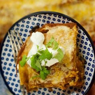 Pumpkin Enchilada Bake.