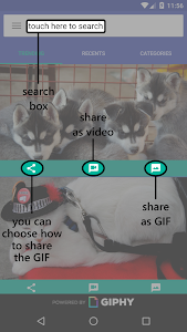 GIFShare screenshot 1