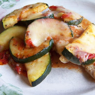 Chicken with Zucchini and Tomato