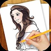 How to Draw Celebrities Anime