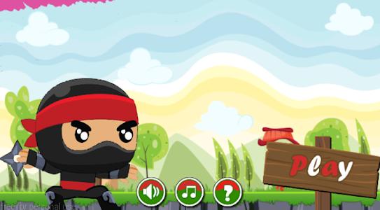 Ninja Jump Running screenshot 0