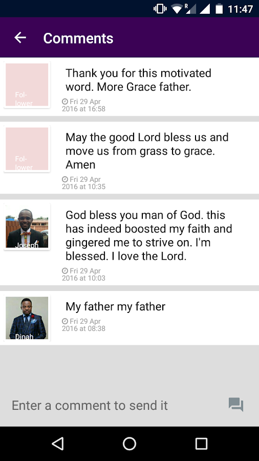 Rhema [E. Brookman Ministries]- screenshot