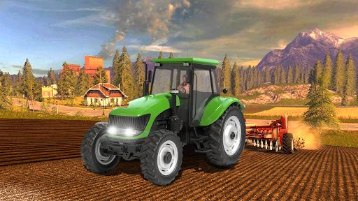 Real Farm Town Farming Simulator Tractor Game  captures d'écran 2
