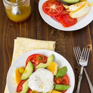 Burrata Fruit Salad With Simple Dressing