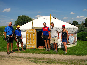 Photo: Oryginalna jurta tatarska w Bohonikach.