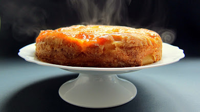 Photo: Make a delicious CAKE in the pressure cooker! My fave: Upside Down Apple Cake! http://www.hippressurecooking.com/delish-pressure-cooked-upside-down-apple-and-ricotta-cake/