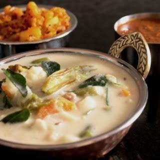 Tirunelveli Sodhi Kuzhambu (Cream of Coconut Milk with Vegetables)