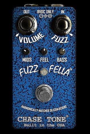 Chase Tone Fuzz Fella Blue BC108C