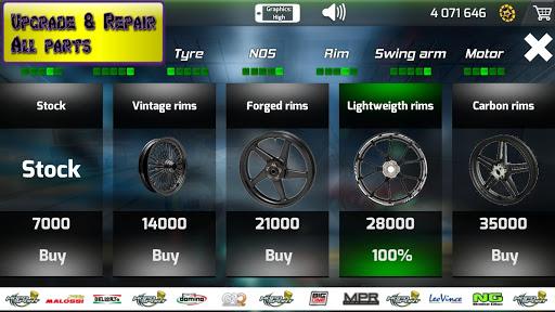 Motorbike real 3D drag racing Wheelie Challenge 3D  screenshots 11