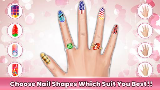 Fashion Nail Salon Game 1.2 screenshots 1