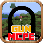 Mods Gun Mod For MCPE