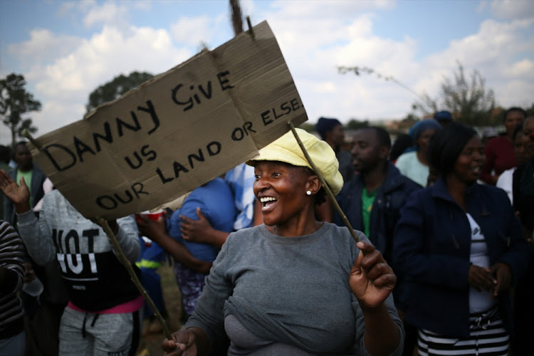 The land debate has recently again stirred up emotions among both black and white.