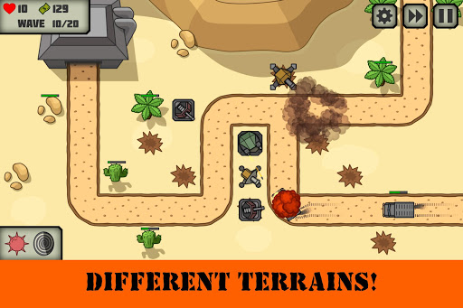 Tactical V: Tower Defense Game 1.3 screenshots 3