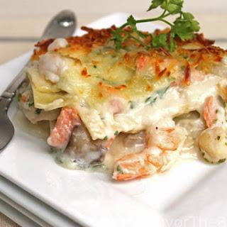 Seafood Lasagna Recipe