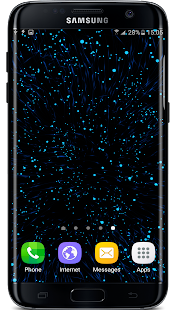 Gyro Particles 3D Live Wallpaper Screenshot