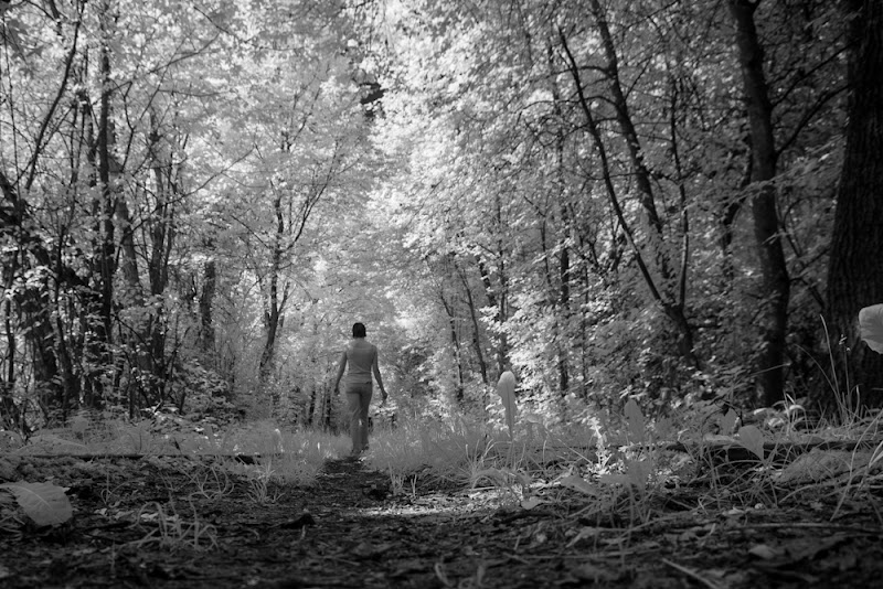 """Photo: Sean Strange - """"Walk The Line""""-Official Video (Directed by Puma)  #ir  #infrared"""