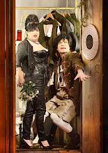 Photo: WIEN/ Akademietheater: DER TALISMAN von Johann Nestroy. Premiere 2. März 2013. Inszenierung: David Boesch. Maria Happel, Johannes Krisch. Foto: Barbara Zeininger.